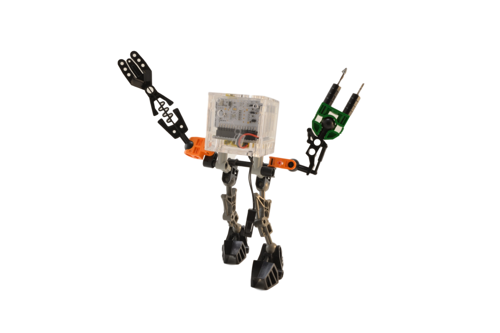 databot with LEGO legs